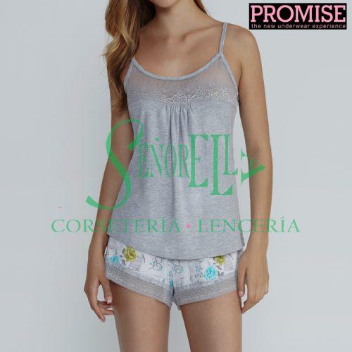 Pijama Promise N05072 tirante regulable