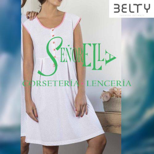 Camisón mujer verano Belty con apertura en el pecho.