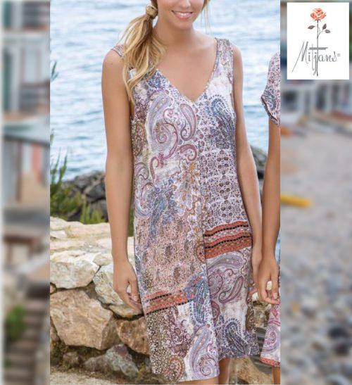 Vestido Mitjans modelo Estambul