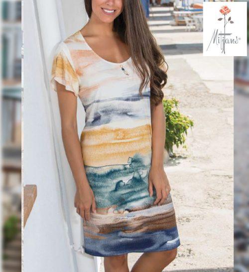 Vestido Mitjans modelo Perú