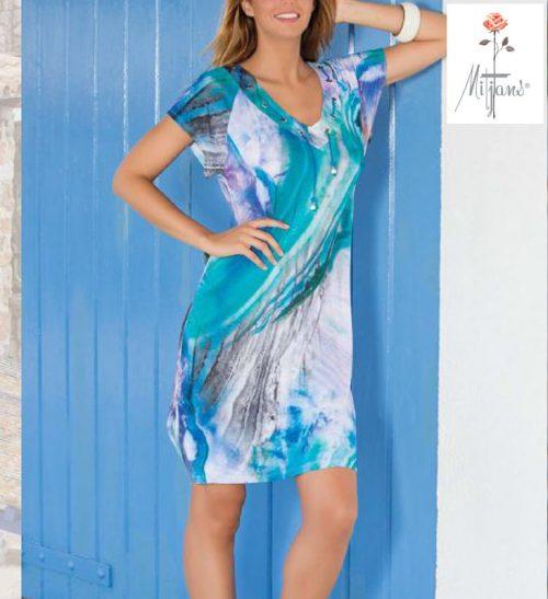 Vestido Mitjans modelo Porto Alegre