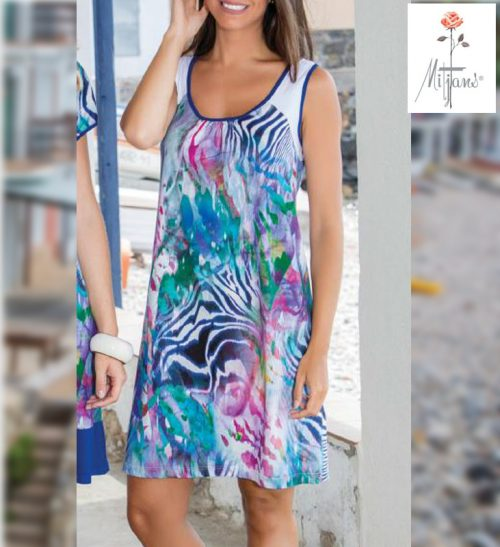 Vestido Mitjans modelo Brasilia